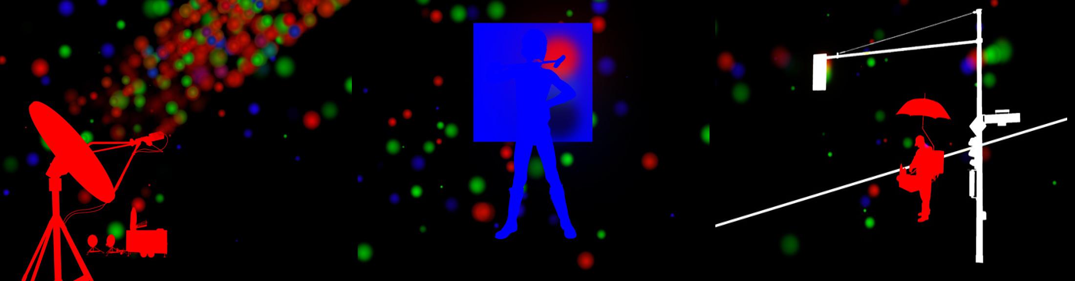 """Stefano Fake, """"RGB triptic #01"""""""