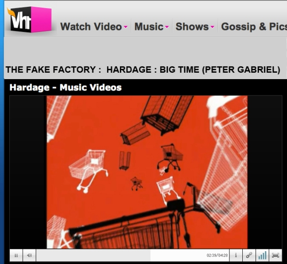 BIG TIME PETER GABRIEL HARDAGE