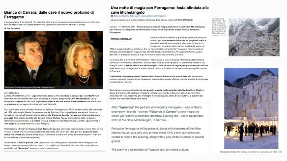 FERRAGAMO TUSCAN SOUL BIANCO DI CARRARA #01