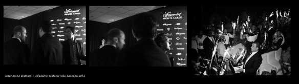 Jason Statham + stefano fake MONACO