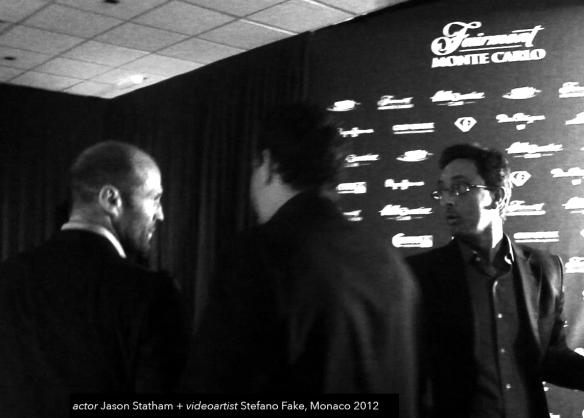 Jason Statham stefano fake MONACO