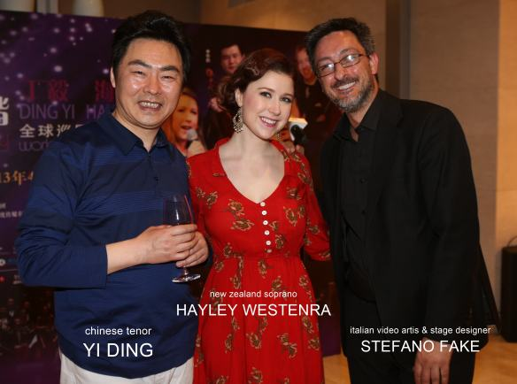 STEFANO FAKE HAYLEY WESTENRA YI DING