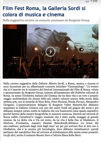STEFANO FAKE_ORCHESTRA ITALIANA DEL CINEMA - GALLERIA ALBERO SORDI 02