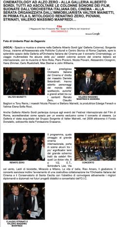 STEFANO FAKE_ORCHESTRA ITALIANA DEL CINEMA - GALLERIA ALBERO SORDI 03