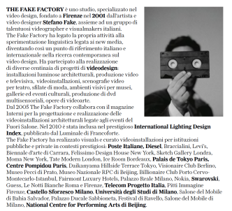 STEFANO FAKE & THE FAKE FACTORY