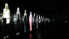 STEFANO FAKE : WHITE : milan fashion week 13