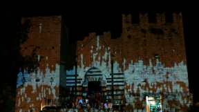 castello imperatore prato videoproiezioni 09