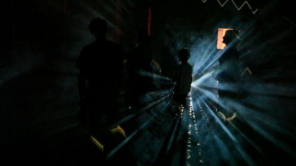 STEFANO FAKE A.N.S. video ambienti 2002_6 arte contemporanea