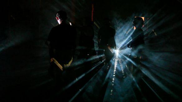 STEFANO FAKE A.N.S. video ambienti 2002_7 arte contemporanea