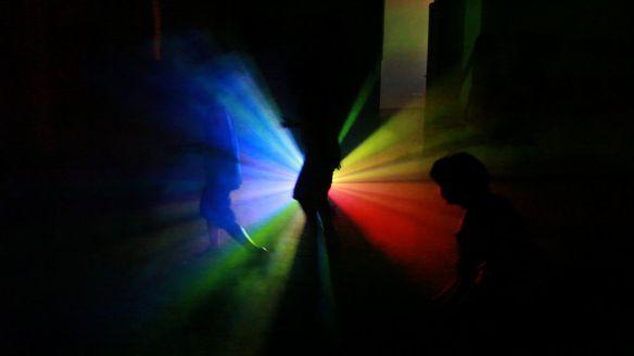STEFANO FAKE A.N.S. video ambienti 2002_COLORS 2 arte contemporanea
