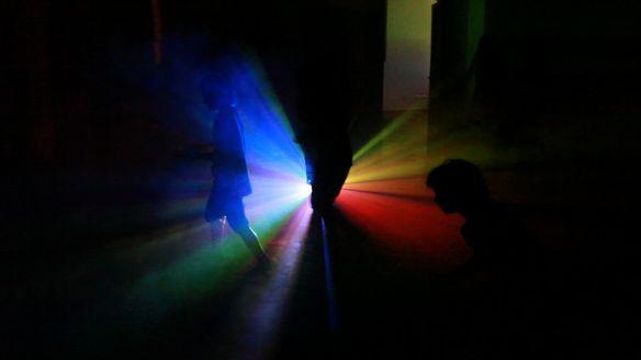 STEFANO FAKE A.N.S. video ambienti 2002_COLORS 3 arte contemporanea