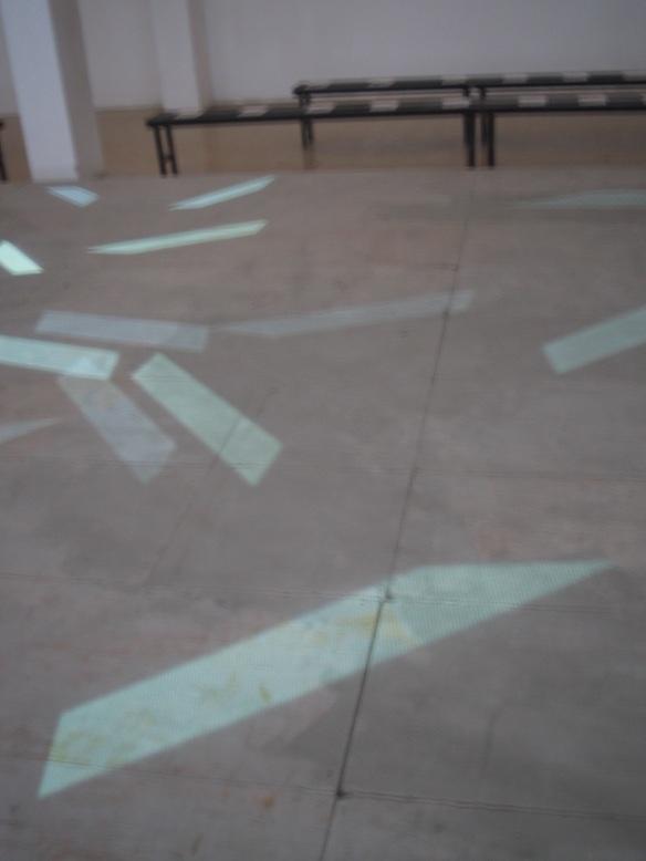 STEFANO FAKE fashion show abstract art intallation 2005_21
