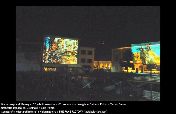 the fake factory videomapping concerto santarcangelo Federico Fellini Tonino Guerra_00000