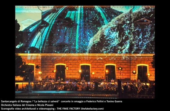 the fake factory videomapping concerto santarcangelo Federico Fellini Tonino Guerra_00001