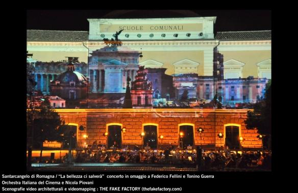 the fake factory videomapping concerto santarcangelo Federico Fellini Tonino Guerra_00003