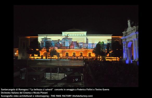the fake factory videomapping concerto santarcangelo Federico Fellini Tonino Guerra_00004