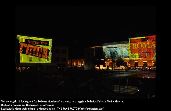 the fake factory videomapping concerto santarcangelo Federico Fellini Tonino Guerra_00006