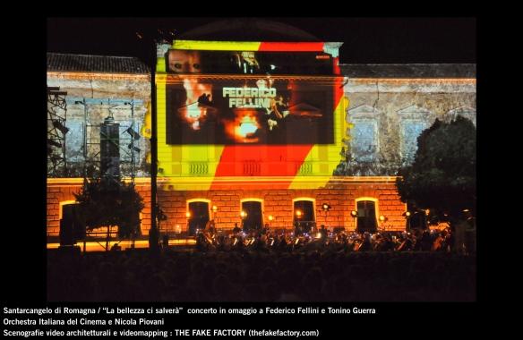 the fake factory videomapping concerto santarcangelo Federico Fellini Tonino Guerra_00012