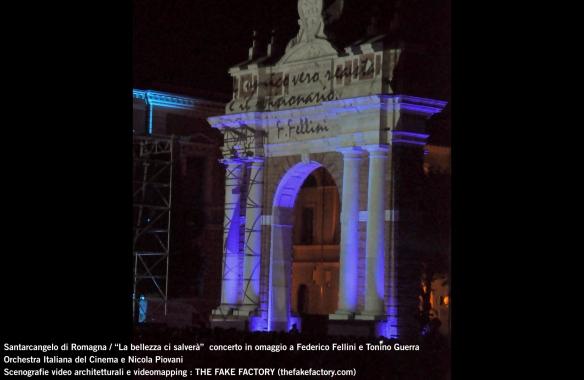 the fake factory videomapping concerto santarcangelo Federico Fellini Tonino Guerra_00014