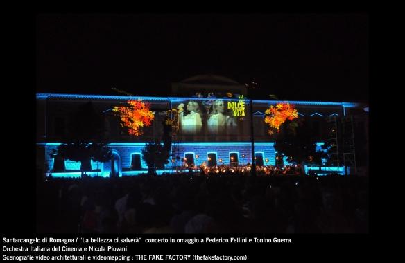 the fake factory videomapping concerto santarcangelo Federico Fellini Tonino Guerra_00016