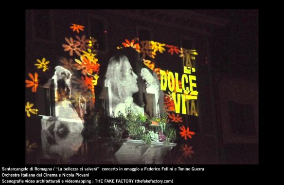 the fake factory videomapping concerto santarcangelo Federico Fellini Tonino Guerra_00017