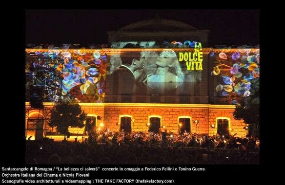 the fake factory videomapping concerto santarcangelo Federico Fellini Tonino Guerra_00020