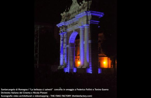 the fake factory videomapping concerto santarcangelo Federico Fellini Tonino Guerra_00024