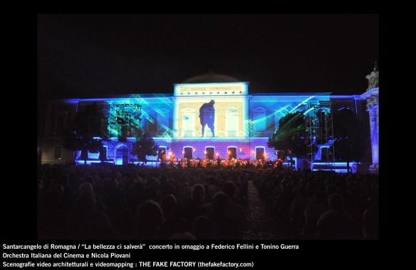 the fake factory videomapping concerto santarcangelo Federico Fellini Tonino Guerra_00025