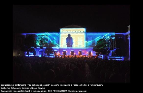 the fake factory videomapping concerto santarcangelo Federico Fellini Tonino Guerra_00026