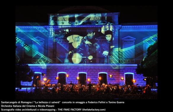 the fake factory videomapping concerto santarcangelo Federico Fellini Tonino Guerra_00028