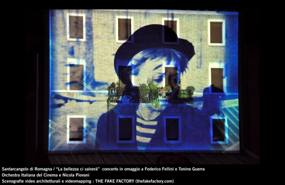 the fake factory videomapping concerto santarcangelo Federico Fellini Tonino Guerra_00031