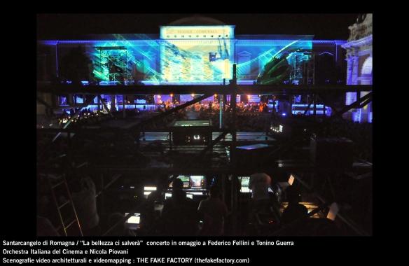 the fake factory videomapping concerto santarcangelo Federico Fellini Tonino Guerra_00032