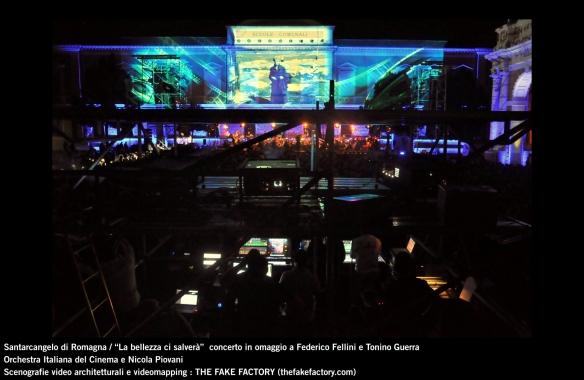 the fake factory videomapping concerto santarcangelo Federico Fellini Tonino Guerra_00033