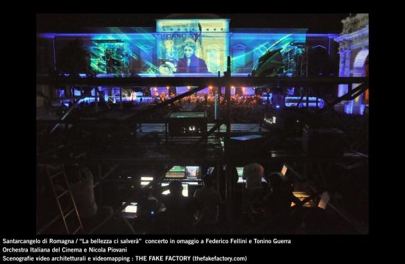 the fake factory videomapping concerto santarcangelo Federico Fellini Tonino Guerra_00034