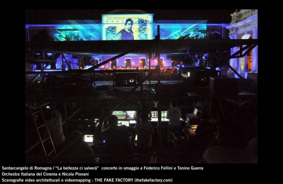 the fake factory videomapping concerto santarcangelo Federico Fellini Tonino Guerra_00035
