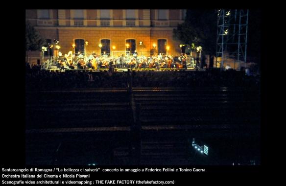the fake factory videomapping concerto santarcangelo Federico Fellini Tonino Guerra_00038