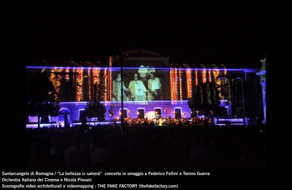 the fake factory videomapping concerto santarcangelo Federico Fellini Tonino Guerra_00040