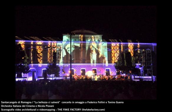the fake factory videomapping concerto santarcangelo Federico Fellini Tonino Guerra_00041