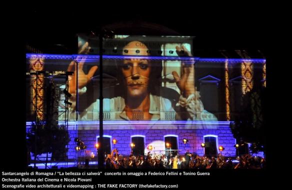the fake factory videomapping concerto santarcangelo Federico Fellini Tonino Guerra_00042