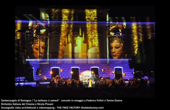 the fake factory videomapping concerto santarcangelo Federico Fellini Tonino Guerra_00044