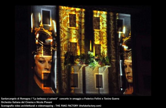 the fake factory videomapping concerto santarcangelo Federico Fellini Tonino Guerra_00045