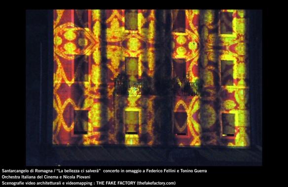 the fake factory videomapping concerto santarcangelo Federico Fellini Tonino Guerra_00046