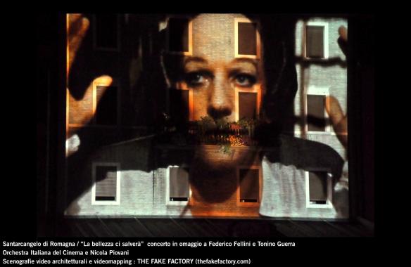 the fake factory videomapping concerto santarcangelo Federico Fellini Tonino Guerra_00047