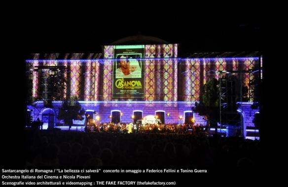 the fake factory videomapping concerto santarcangelo Federico Fellini Tonino Guerra_00049