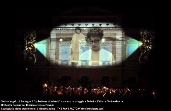the fake factory videomapping concerto santarcangelo Federico Fellini Tonino Guerra_00052