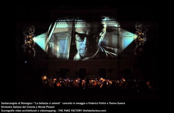 the fake factory videomapping concerto santarcangelo Federico Fellini Tonino Guerra_00054