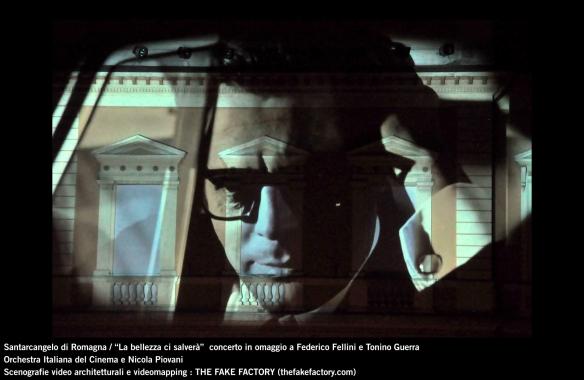 the fake factory videomapping concerto santarcangelo Federico Fellini Tonino Guerra_00055