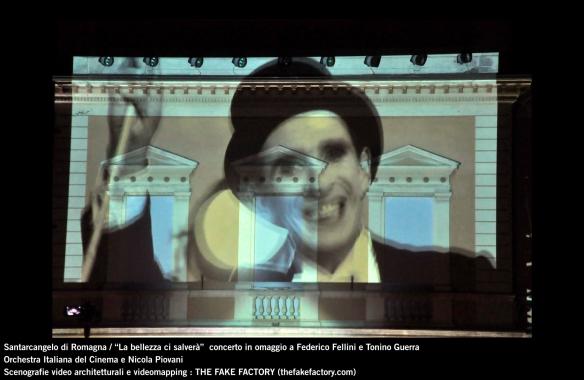 the fake factory videomapping concerto santarcangelo Federico Fellini Tonino Guerra_00057