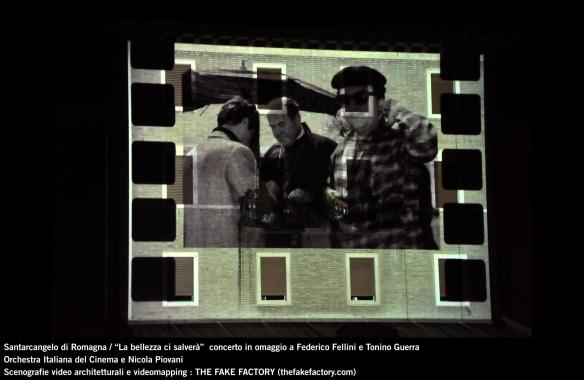 the fake factory videomapping concerto santarcangelo Federico Fellini Tonino Guerra_00058