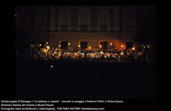 the fake factory videomapping concerto santarcangelo Federico Fellini Tonino Guerra_00059